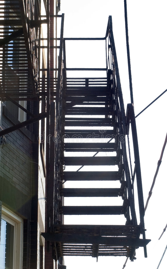 Download Fire Escape stock image. Image of emergency, steps, fire - 21091