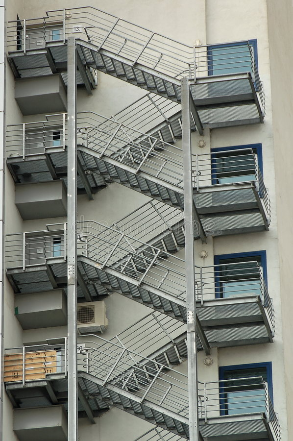 Free Fire Escape Royalty Free Stock Photos - 2228748