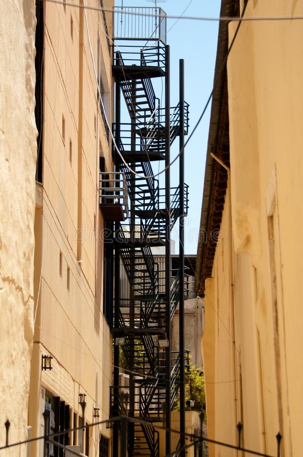 Fire Escape Royalty Free Stock Photo
