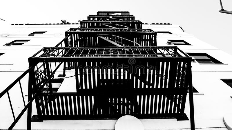 Fire Escape royalty free stock photography