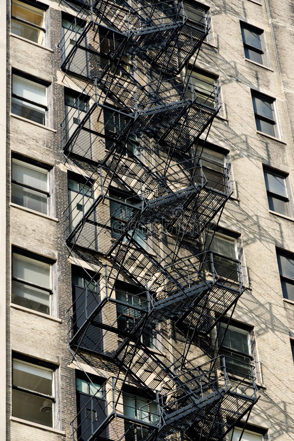Download Fire Escape On An Old Building Stock Image - Image: 24629611