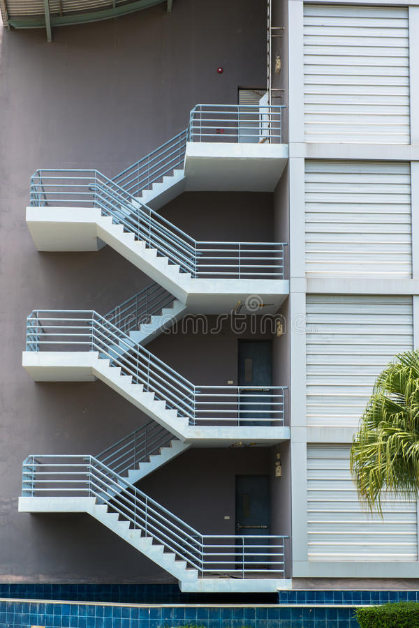 Download Fire Escape Stairs Stock Image. Image Of Exterior, Design    33598239