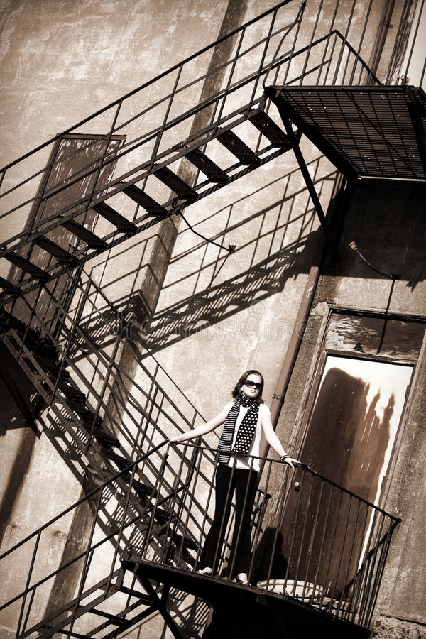 Free Fire Escape Tween Stock Photography - 4825982