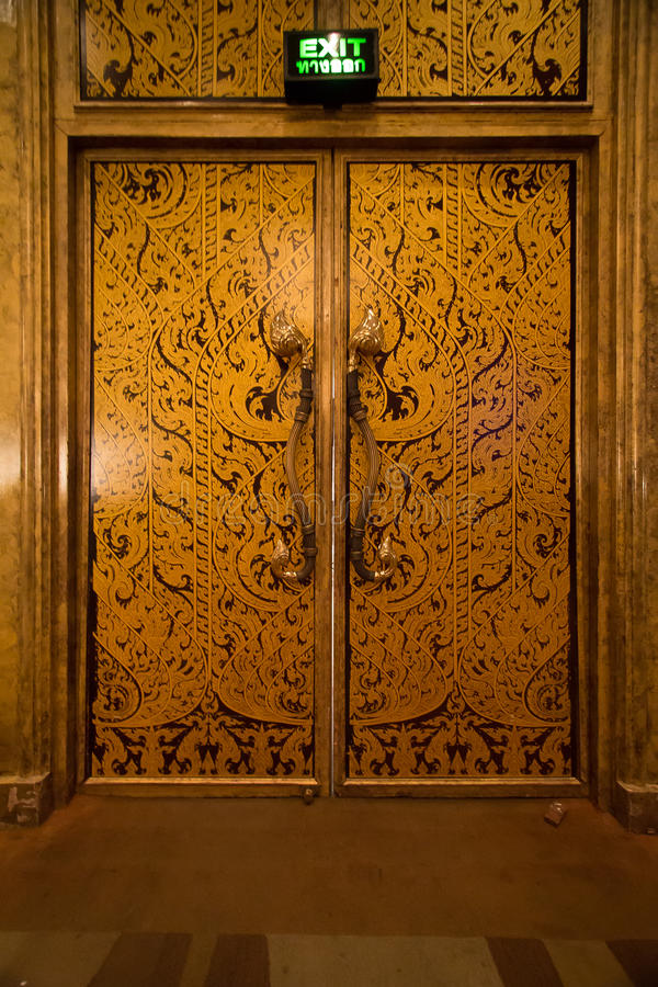 Download Fire exit stock image. Image of ancient, thai, retro - 39511265