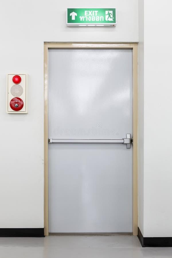 Stock Photo Fire Exit Door Photo Factory Image44299032