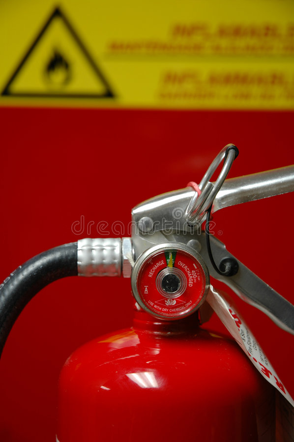 Free Fire Extinguisher Stock Photography - 266172