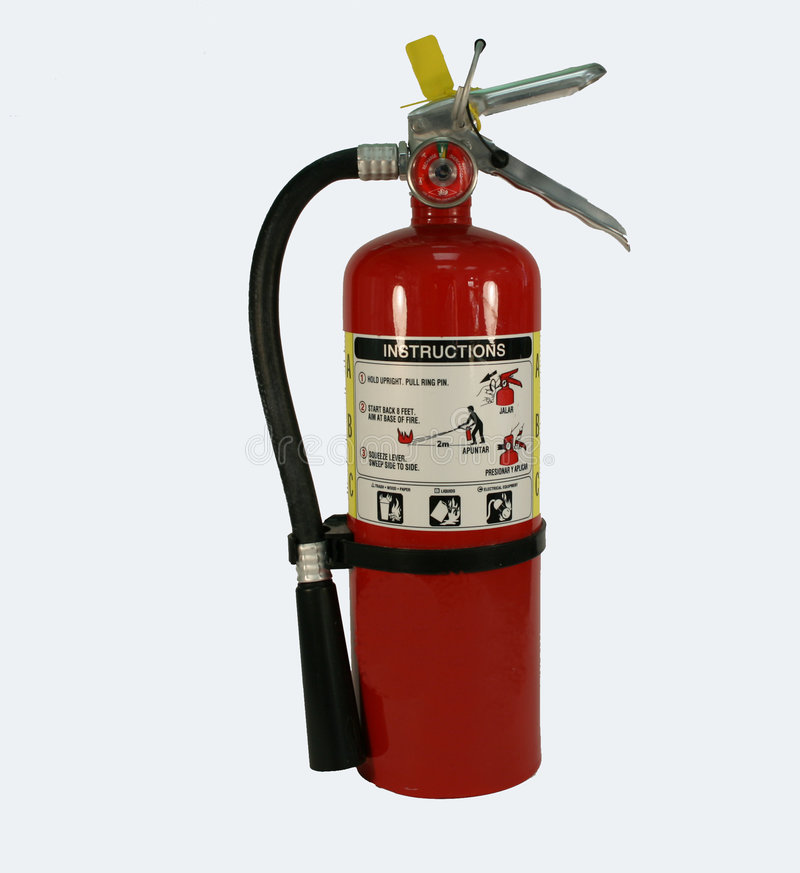 Fire extinguisher royalty free stock photo