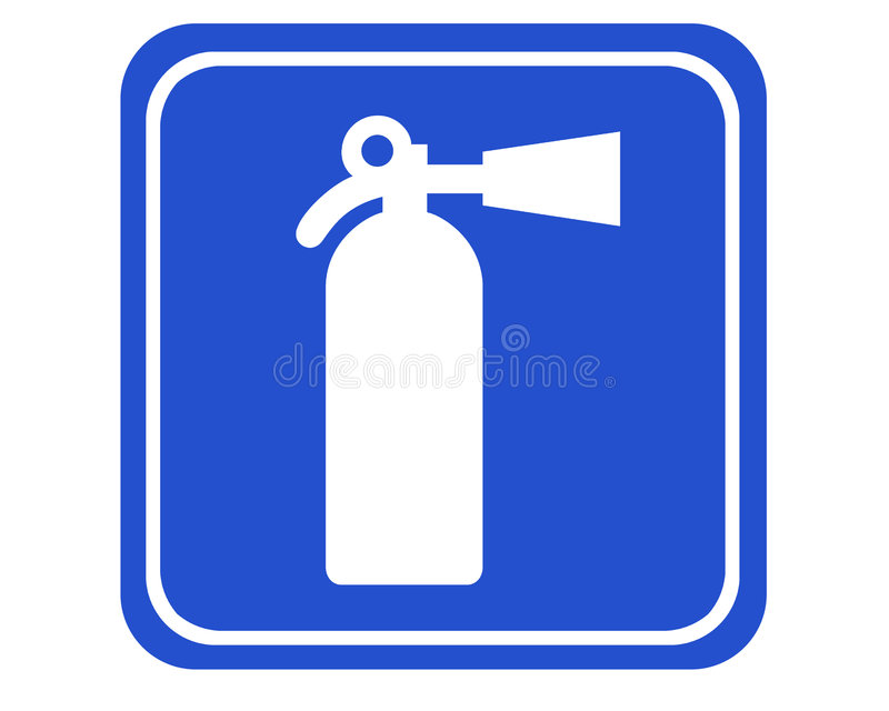 Download Fire extinguisher stock illustration. Image of graph, blue - 513452