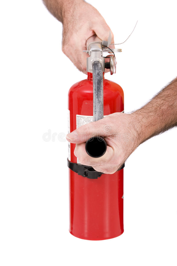 Download Fire Extinguisher stock photo. Image of safety, extinguish - 8357870