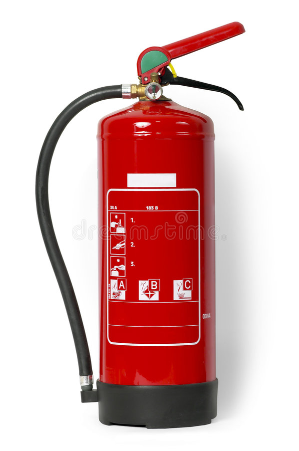 Download Fire Extinguisher (with Clipping Path) Stock Image - Image: 3687975