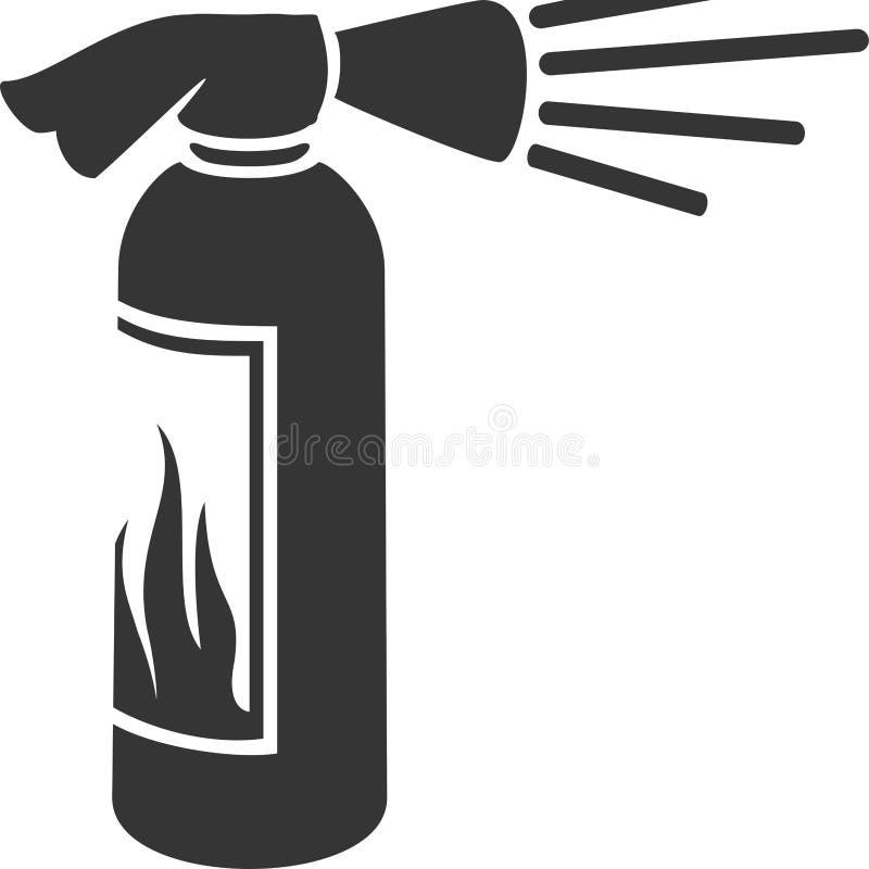 Fire Extinguisher - Emergency Safety Equipment vector illustration