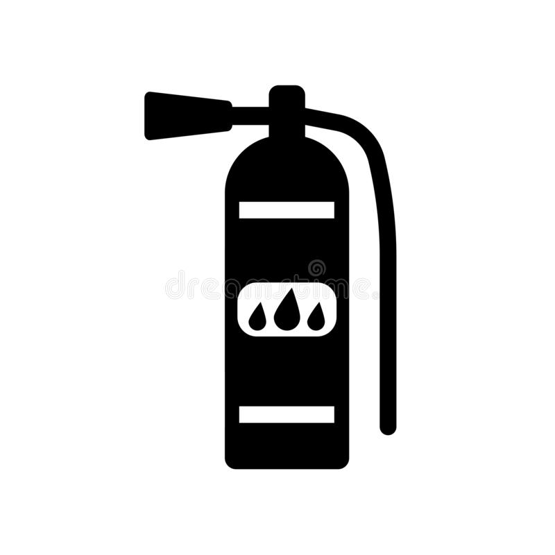 Fire extinguisher icon. Trendy Fire extinguisher logo concept on. White background from Hotel and Restaurant collection. Suitable for use on web apps, mobile royalty free illustration