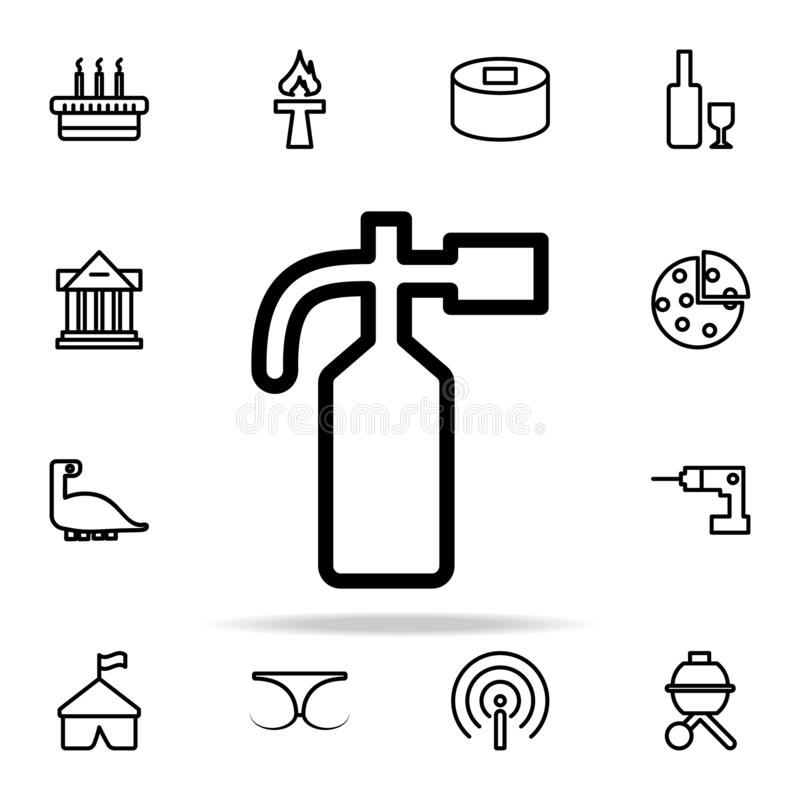 Fire extinguisher icon. web icons universal set for web and mobile. On white background vector illustration