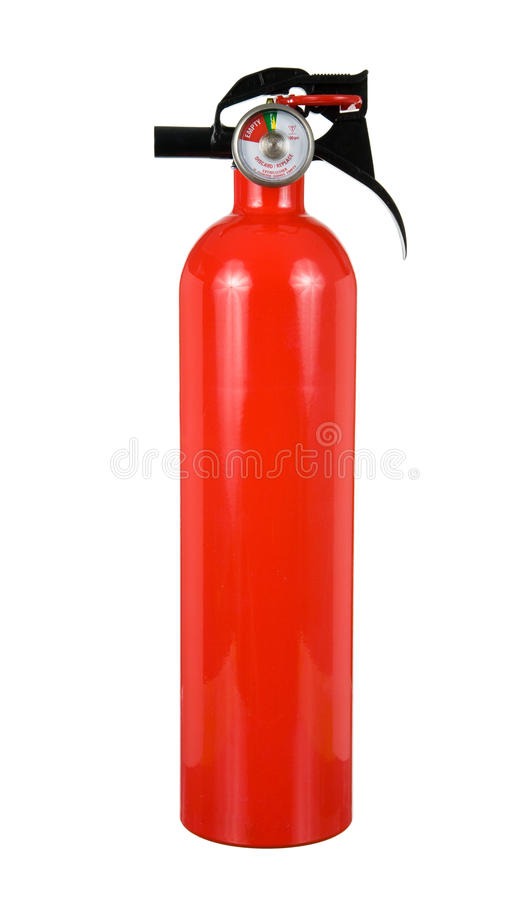 Fire Extinguisher Isolated royalty free stock images
