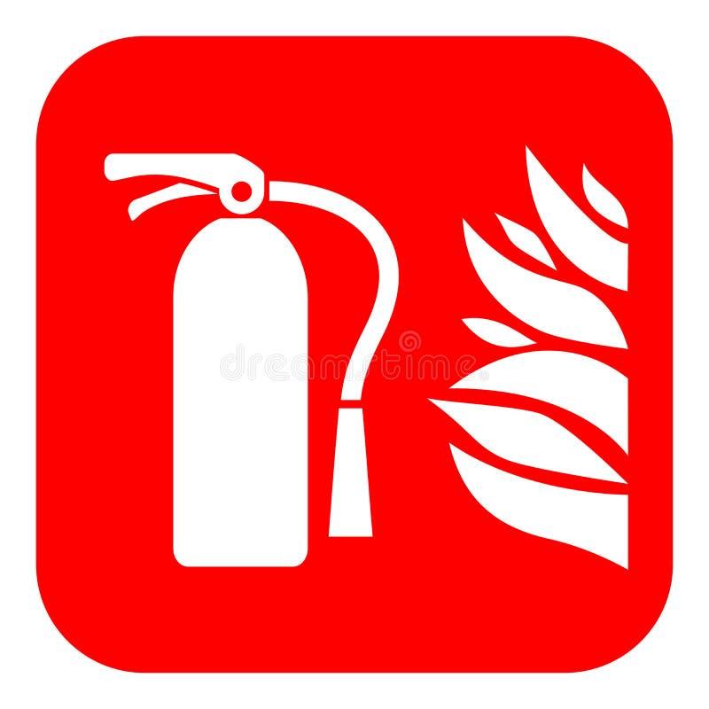 Fire extinguisher vector sign vector illustration