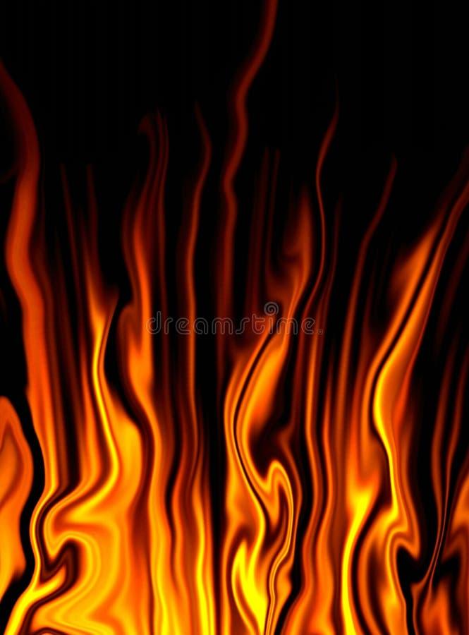 Fire fantasy vector illustration