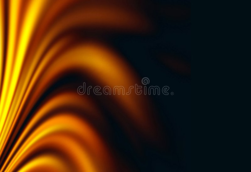 Fire fantasy background for card royalty free illustration