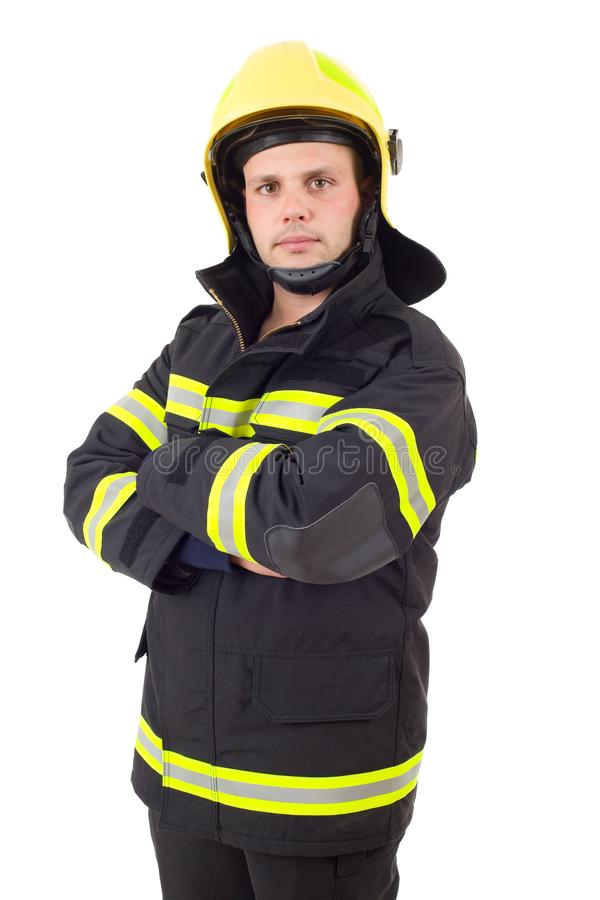 Fire fighter stock photography