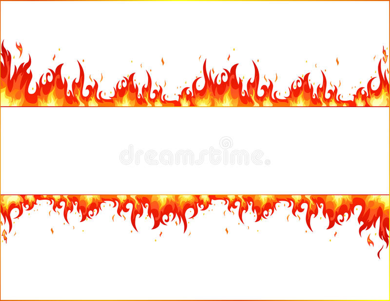 Fire flame stock illustration