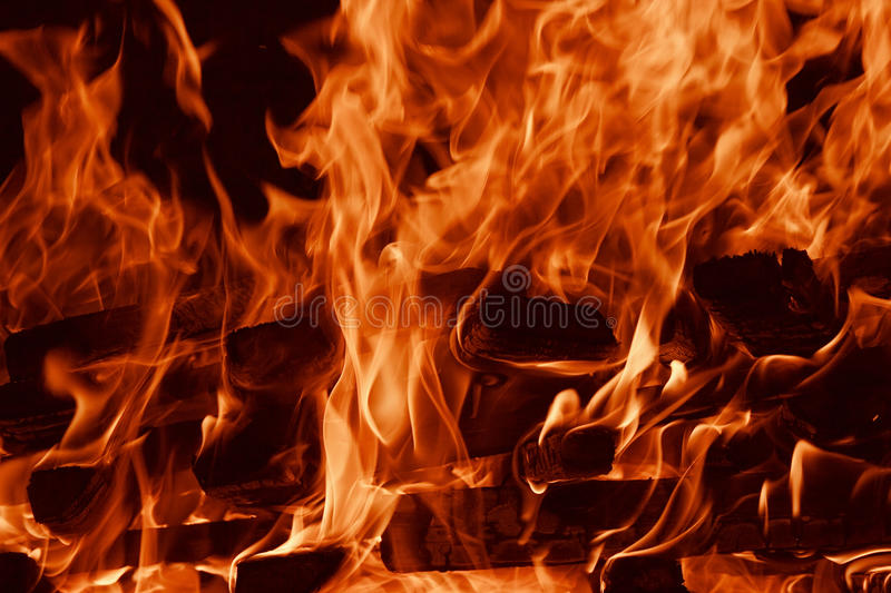 Fire flame background royalty free stock photo