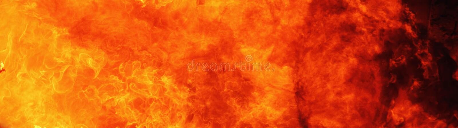 Fire flame background as symbol of hell and eternal pain stock photography