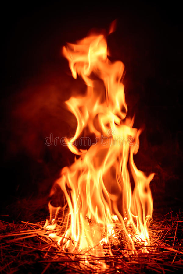 Download Fire flame stock image. Image of closeup, hell, explode - 96824329