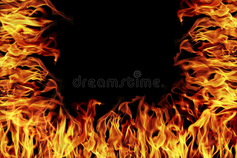 Fire and flame for design. It is fire and flame for design stock image