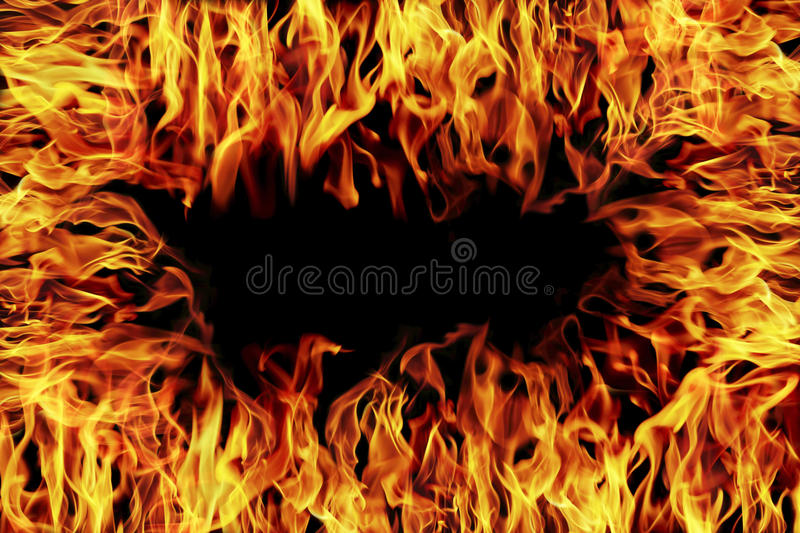 Fire and flame for design. It is fire and flame for design royalty free stock photography