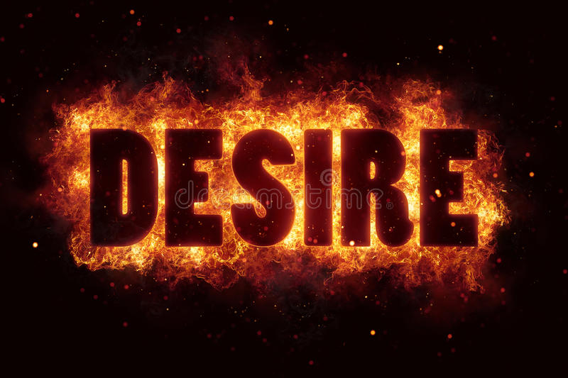 Download Fire Flame With Desire Text On Black Background Flames Burn Stock Image - Image: 88718775