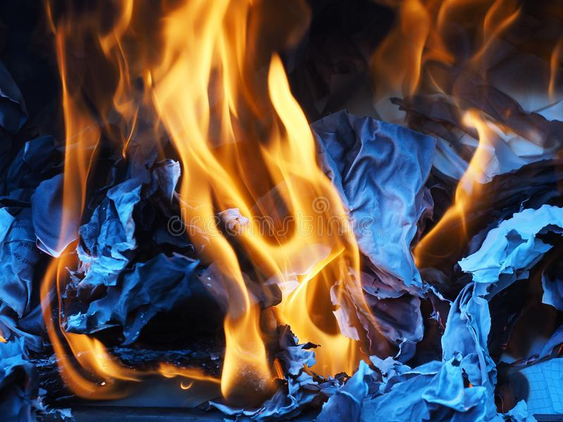 Fire, Flame, Heat, Campfire royalty free stock photo