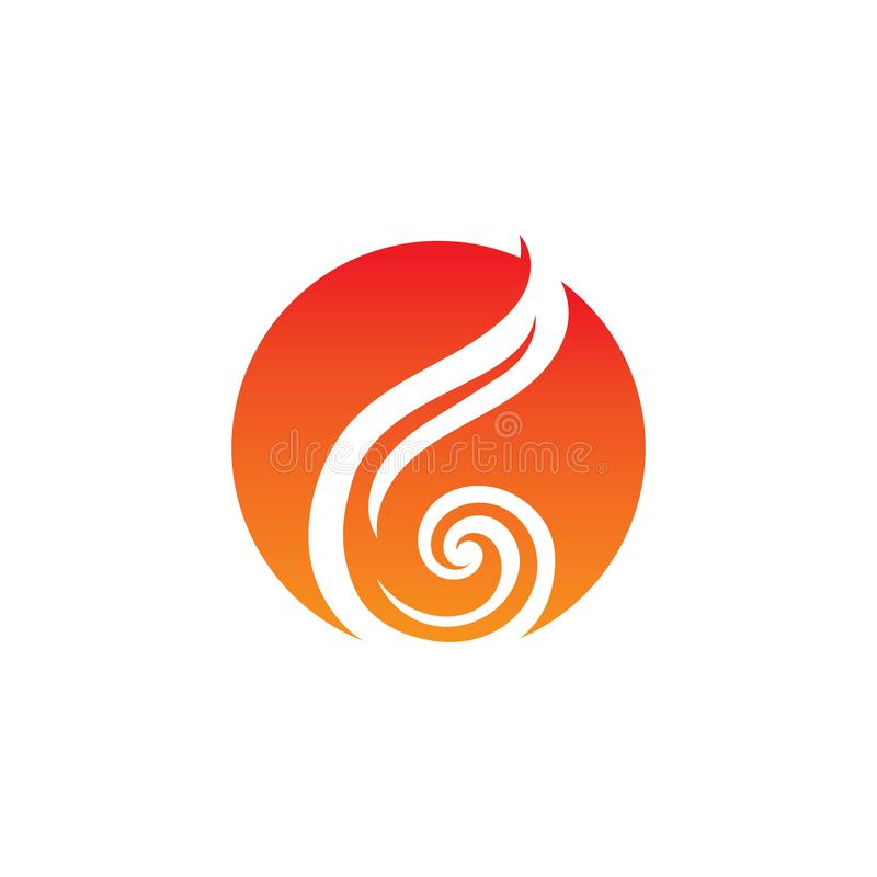 Fire flame logo and symbol. 06072019Fire flame logo and symbol. Fire flame vector illustration design template, flames, car, hot, tribal, art, red, isolated royalty free illustration