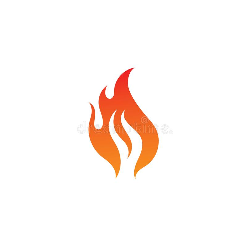 Fire flame logo and symbol vector. Fire flame logo and symbol. Fire flame vector illustration design template, flames, car, hot, tribal, art, red, isolated stock illustration