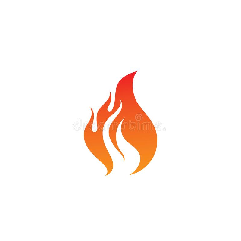 Fire flame logo and symbol. Fire flame logo and. Fire flame vector illustration design template, flames, car, hot, tribal, art, red, isolated, background, symbol vector illustration