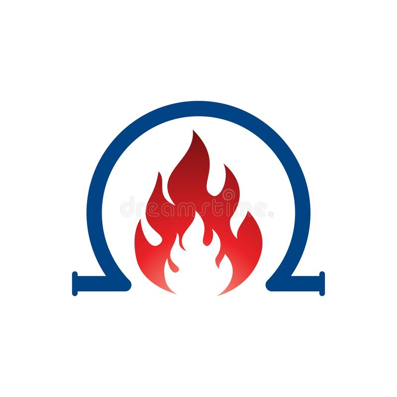 Free Fire Flame Logo Template Vector Icon Oil, Gas And Energy Logo Concept, Royalty Free Stock Photography - 156733527