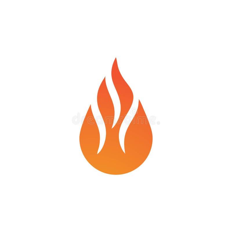 Fire flame Logo stock illustration