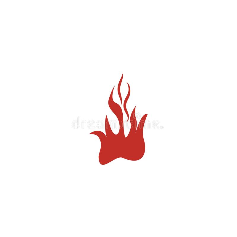 Fire flame nature logo and symbols icons stock illustration