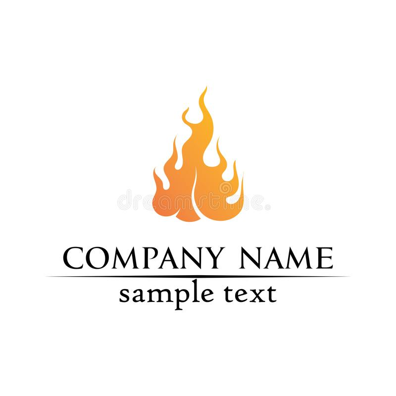 Fire flame nature logo and symbols icons template  vector illustration