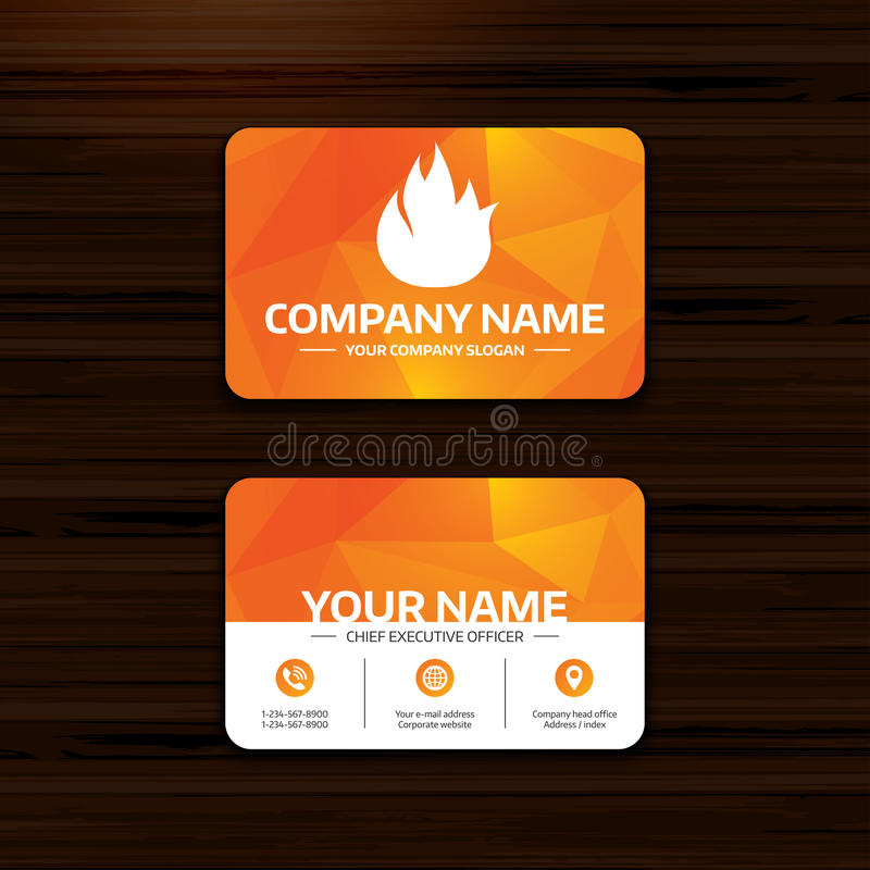 Fire Flame Sign Icon Fire Symbol Stock Vector Illustration Of