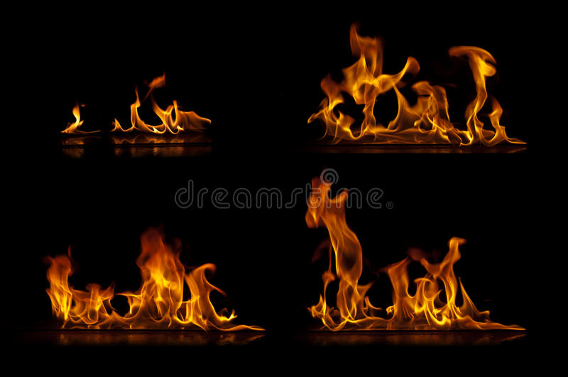 Download Fire flames stock photo. Image of blaze, background, barbecue - 24535244