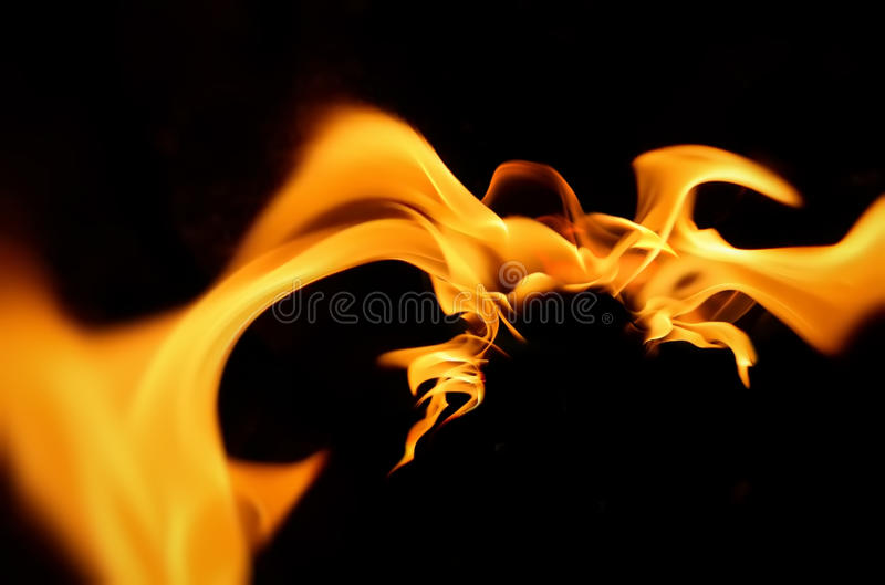 Fire flames abstraction burning royalty free stock images