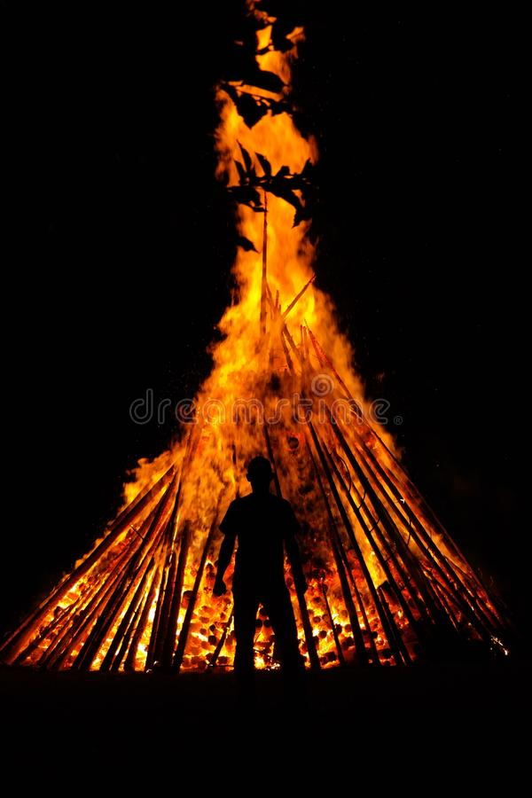 Fire, Heat, Flame, Bonfire royalty free stock images