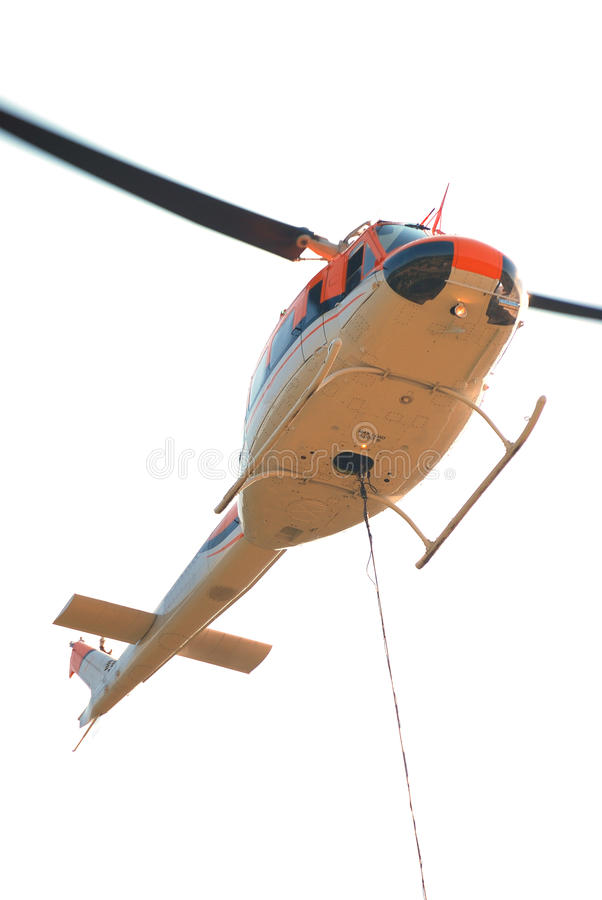 Download Fire Helicopter stock photo. Image of protection, blue - 24889440