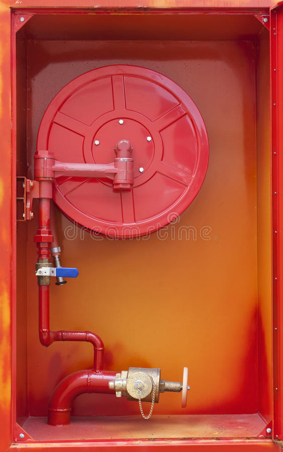 Fire Hose Cabinet Royalty Free Stock Photography Image