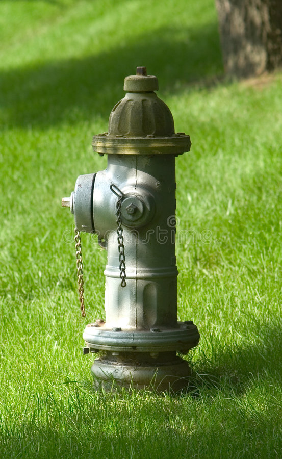 Download Fire Hydrant stock photo. Image of security, grass, water - 3938