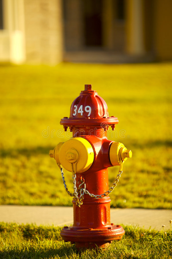 Free Fire Hydrant Royalty Free Stock Photos - 2741698