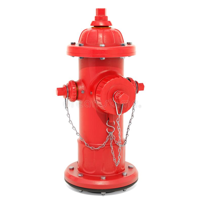Fire Hydrant, 3D rendering vector illustration