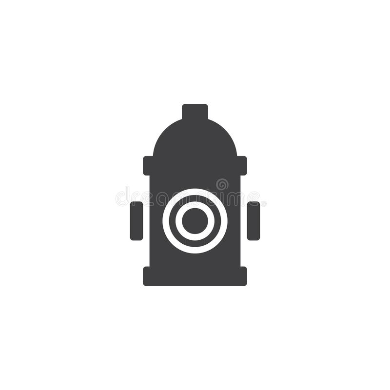 Fire hydrant icon vector royalty free illustration