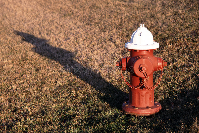 Fire Hydrant in Sun royalty free stock image
