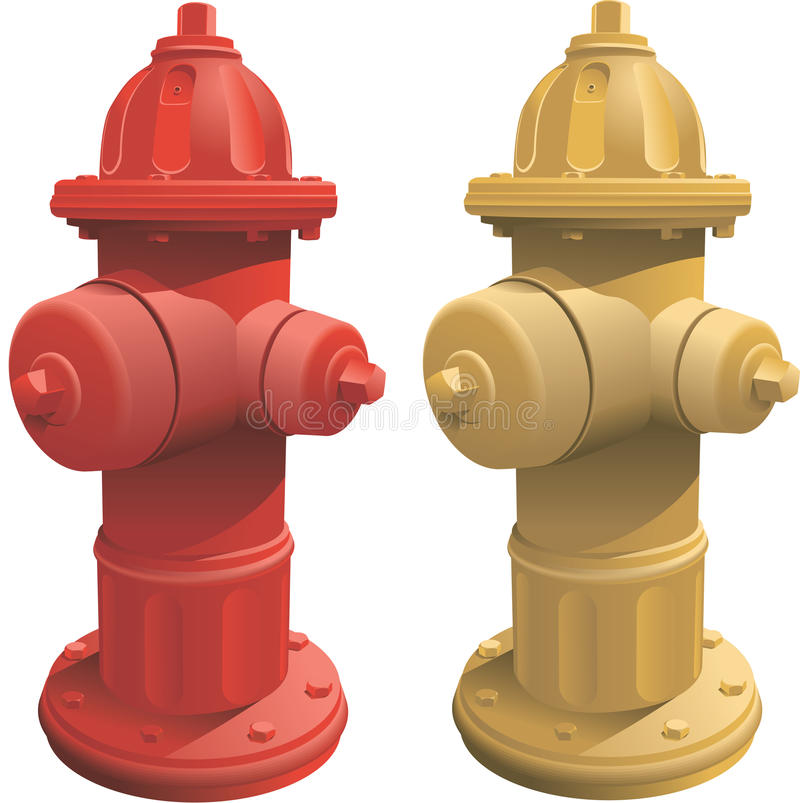 Fire Hydrants Stock Image