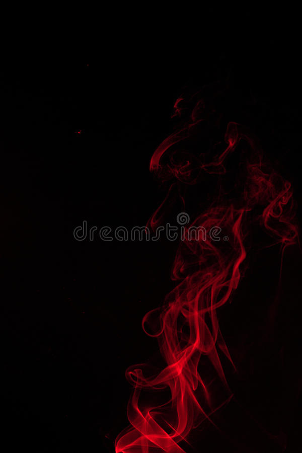 Fire and ice design. Abstract color smoke on black background: fire and ice design royalty free stock images